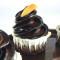 Muffin cioccolatoso all'albicocca