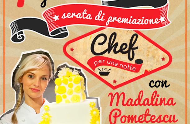 "Madalina madrina a ""Chef per una notte"""