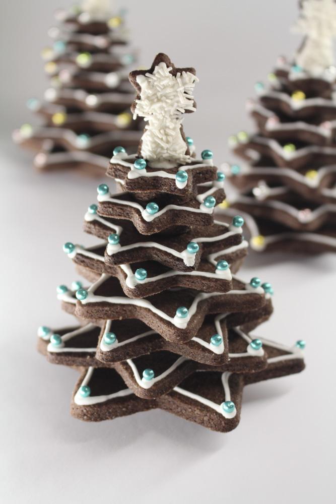 Albero Di Natale Con Biscotti A Stella.Albero Di Frolla Madalina Pometescu Dolci E Ricette