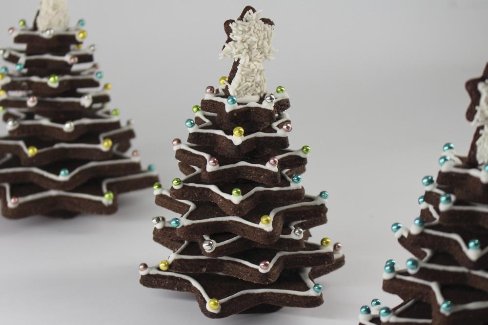 Albero Di Natale Fatto Con I Biscotti.Albero Di Frolla Madalina Pometescu Dolci E Ricette