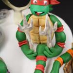 Torta tartarughe ninja - cake design