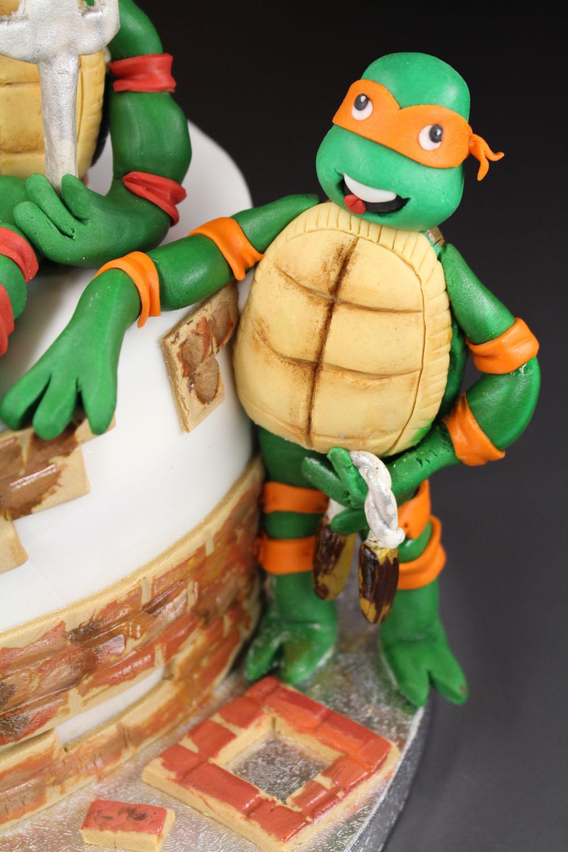 Cake Design Ricette Torte : Torta Tartarughe Ninja - Madalina Pometescu