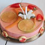 Bavarese speziata alle fragole con aspic al moscato - Madalina Pometescu - Ricette dolci e salate-2