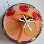 Bavarese speziata alle fragole con aspic al moscato - Madalina Pometescu - Ricette dolci e salate-3
