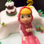 Torta Masha e Orso - Compleanno - Madalina Pometescu ricette dolci e salate-3