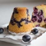 Muffin ai mirtilli senza lattosio - Madalina Pometescu - Ricette dolci e salate-2
