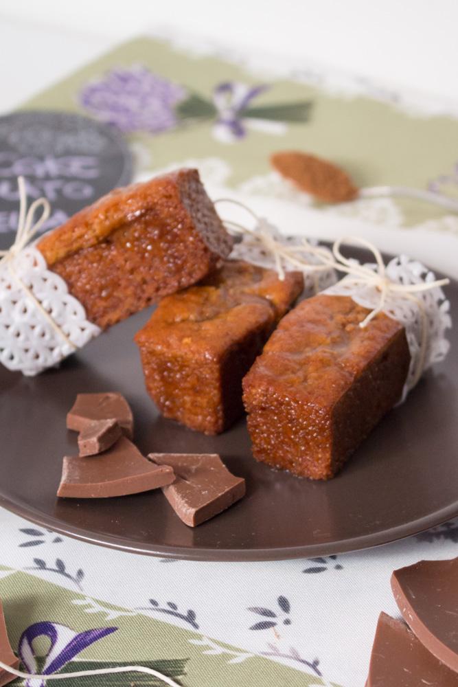 Plumcake cioccolato e cannella senza glutine