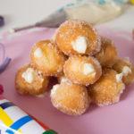 Brighelle con ripieno alla crema - Madalina Pometescu - Ricette dolci e salate