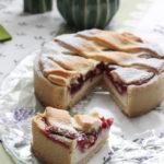Crostata crema di ricotta e lamponi - Madalina pometescu - Ricette dolci e salate-13