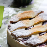 Crostata crema di ricotta e lamponi - Madalina pometescu - Ricette dolci e salate-4