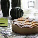 Crostata crema di ricotta e lamponi - Madalina pometescu - Ricette dolci e salate-5