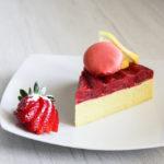 cheesecake limone e fragole - Madalina pometescu - Ricette dolci e salate-15