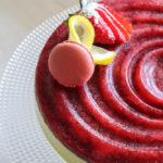cheesecake limone e fragole - Madalina pometescu - Ricette dolci e salate-4