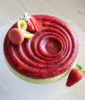 Cheesecake al limone e fragole