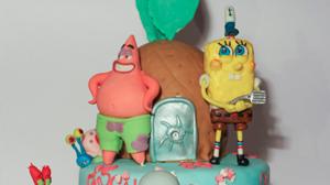 Torta Spongebob per Giulia