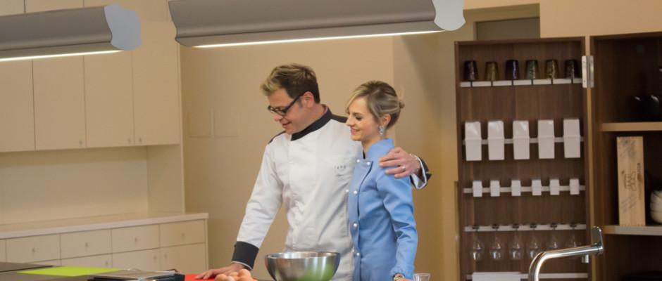 Live Cooking nella scuola di cucina di Spyros - 1495 Restaurant