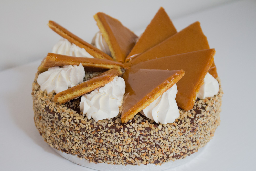Torta Dobos - Madalina Pometescu - Ricette dolci e salate