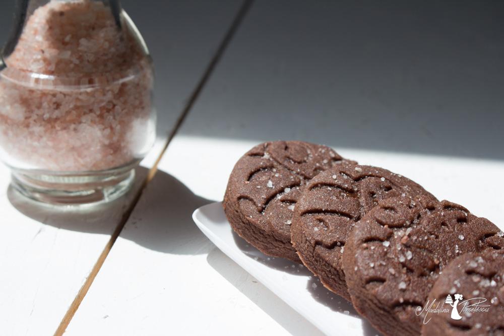 Biscotti al sale rosa