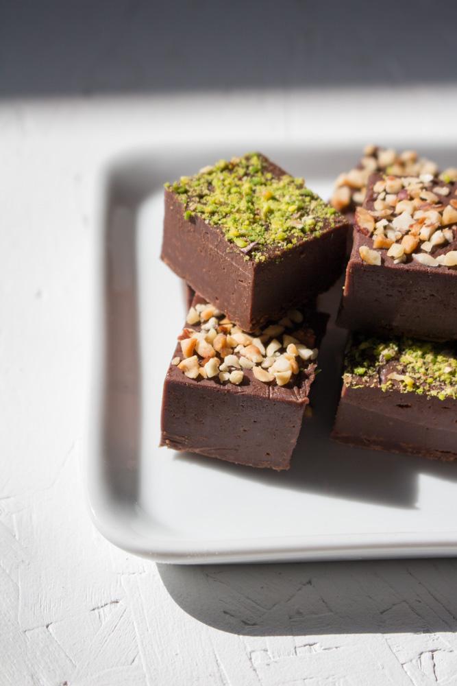 Fudge al cioccolato fondente